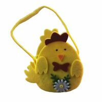 Non-woven Basket Easter Egg Storage Bag Cute Design Kids Party Accessory Crafts
