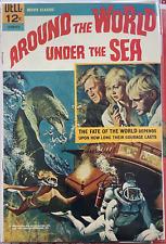 Movie Classics 1 Around the World Under the Sea Silver Age Dec 1966 Dell Comics
