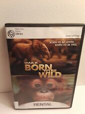 IMAX Born to Be Wild (DVD, 2011, Warner Bros.) Ex-Library