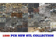 1500+ Newest 3D STL Models for CNC Router Carving Machine Artcam aspire Cut3D
