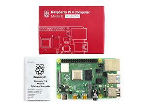 Raspberry Pi 4 Model B 2GB RAM BCM2711B0 Cortex-A72 64-bit 1.5GHz quad-core