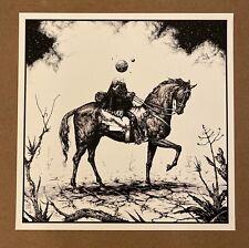 "Esao Andrews 2015 ""World Traveler"" #/200 rare art print"