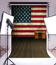 3x5ft American flag Background Backdrop Studio Vinyl Props Photography