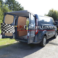 FORD TRANSIT CUSTOM (2013 ONWARDS) REAR BARN DOOR AWNING COVER - GREY 514