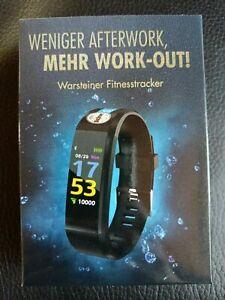Warsteiner Fitnesstracker, neu und in OVP