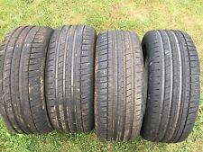 4 x 195/50/15 Michelin Pilot Sport 3 part worn tyres trackday race