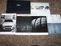 2016 Ford Fusion Owner User Guide Operator Manual S SE Titanium 1.5L 2.0L 2.5L