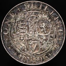 More details for 1896 | victoria one shilling | silver | coins | km coins