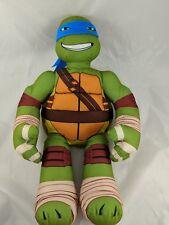 """Teenage Mutant Ninja Turtle Leonardo Plush Talks 17"""" Stuffed Animal"""