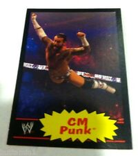 CM PUNK 2012 Topps Heritage BLACK BORDER Rare SP Card #12 ONLY 100 MADE