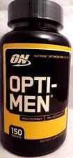 ON Optimum Nutrition Opti-Men High Potency Dietary Supplement - 150 Tablets