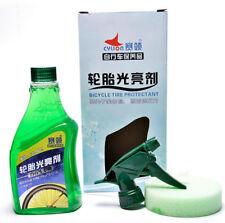 Wax WHEEL & TIRE Shine CLEANER Protectant Remove Brake Dust SPRAY Bicycle Bike