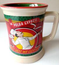 RARE THE POLAR EXPRESS WARNER BROS 3D MUG CUP TANKARD HOT CHOCOLATE CHRISTMAS