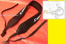 "NEOPRENE STRAP ""For CANON "" CAMERA SX420 SX30 SX20 SX10 SX1 SX40 SX50 SX60 HS IS"