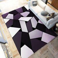 Modern Living Room / Bedroom Carpet Geometric Style Carpet Non-slip Soft Carpet