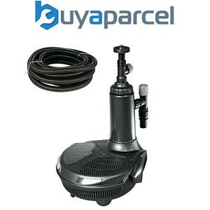 Hozelock Easyclear 6000 Teich Pumpe & Filter System 1764 UV Erheller & 5m