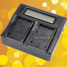 Fast Quick Dual Battery Charger For Panasonic D16S D28S D54S VBD58 VBD78 VSK0644