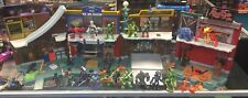 TMNT Large Lot Of Mini Mutants Figures And Playsets Teenage Mutant Ninja Turtles