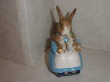 "Beswick Beatrix Potter's  -  ""Mrs Rabbit and Bunnies"" -  signed John Beswick"