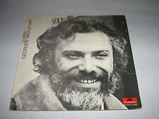 GEORGES MOUSTAKI 33 TOURS GERMANY VERLAINE WALCH