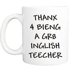 TEACHER MUG funny novelty tea coffee gift womens mens office gifts christmas