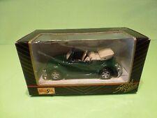 MAISTO VW VOLKSWAGEN CABRIOLET  - GREEN 1:40? - EXCELLENT IN BOX