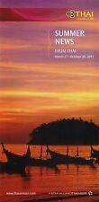 Thai Airways Summer News brochure 2011 =