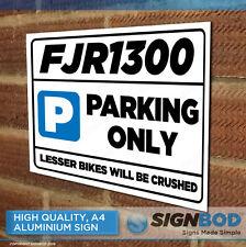 YAMAHA FJR1300 Owner Parking Metal Sign Gift - Birthday Present