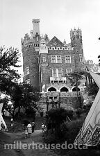 Casa Loma Toronto w/ Aboriginal Village 1960's Original B&W 35mm Film Negative