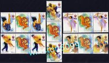 2001 Malaysia Sports XXI SEA Games 5v x2 Sets with Mascot in Gutter Pair Mint NH