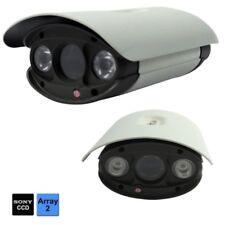TELECAMERA VIDEOSORVEGLIANZA HD 2 LED ARRAY CCD SONY 700TVL CAMERA ESTERNO 6mm