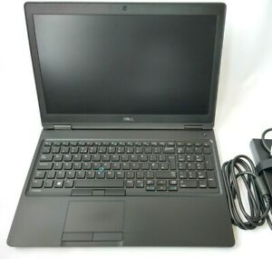 "Dell Latitude 5580 i7-7600U 2.8 GHz 8GB Ram 256GB SSD 15.6"" 1920x1080 Win10 Pro"