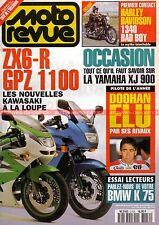 MOTO REVUE 3159 KAWASAKI ZX6 GPZ 1100 HARLEY DAVIDSON 1340 Bad Boy YAMAHA XJ 900