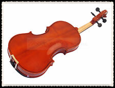 New 4/4 Student Violin+Bow+Rosin+Case+string set-Flamed
