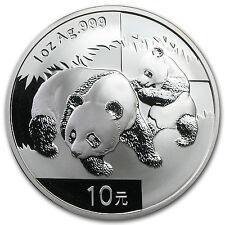 2008 1 oz Silver Chinese Panda Coin