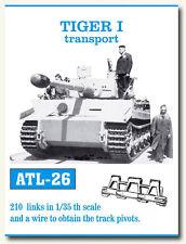1/35 Friulmodel ATL-26 Tiger I Transport Friul Metal Tracks