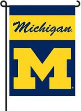 Michigan Wolverines 13x18 Garden Banner Flag Yard Sold By Neoplex
