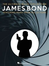 James Bond The Ultimate Music Collection Sheet Music Piano Vocal Guita 014043496