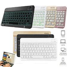 "Slim Wireless Keyboard Keypad For Samsung Galaxy Tab A S E S5e 9.6""-10.5"" Tablet"