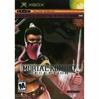 Mortal Kombat: Deception Kollector's Edition: Mileena Original Xbox Complete *VG
