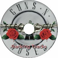 GUNS N ROSES GUITAR BACKING TRACKS CD BEST GREATEST HITS MUSIC PLAY ALONG JAM