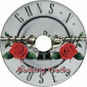 GUNS N ROSES GUITAR BACKING TRACKS CD BEST GREATEST HITS MUSIC PLAY ALONG JAM