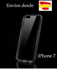 Funda transparente trasera carcasa iPhone 7 silicona gel dura plastico
