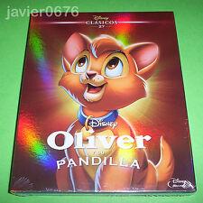 OLIVER Y SU PANDILLA CLASICO DISNEY 27 - BLU-RAY NUEVO Y PRECINTADO SLIPCOVER