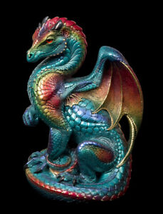 "Windstone Editions ""Calypso"" Secret Keeper Dragon Test Paint #1"