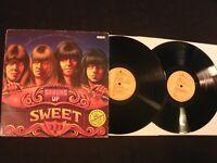 Sweet - Strung Up - 1975 German Vinyl 12'' Lp.x 2/ VG+/ Glitter Glam Hard Rock
