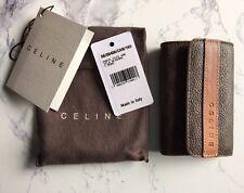Celine Macadam Key Holder Wallet Porte Cles with Dust Bag, Tag, Box 00486