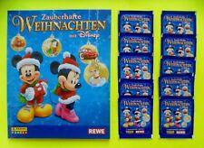 Sammelalbum von Rewe Zauberhafte Weihnachten Leer Album und 10 Tüten 50 Sticker