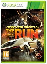 MICROSOFT XBOX 360 NEED FOR SPEED THE RUN LIMITED ED PAL ITA NUOVO SIGILLATO