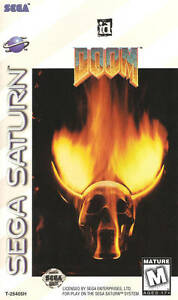 Doom Sega Saturn Great Condition Fast Shipping